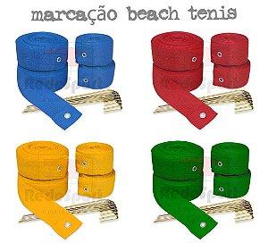 Fita de Marcação Oficial para Quadra de Beach Tennis - (16x8mts)