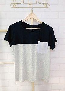 T-Shirt Bolso Branco