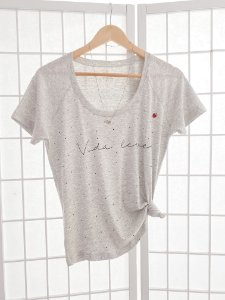 T-Shirt Joaninha - Vida Leve Mescla