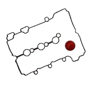 Kit Tampa de valvulas+Diafragma Onix 2 Geração 1.0 12v Asp