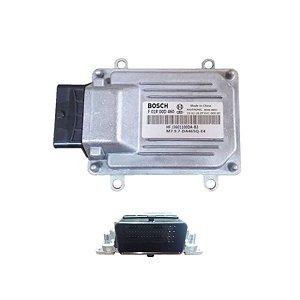 Módulo de injeção eletr. Towner Jr/Chana/Rely  sist. Bosch