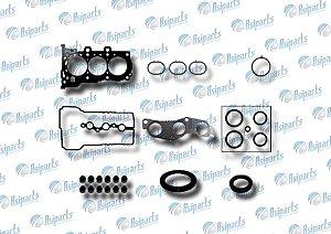 Jogo de juntas Superior c/retentores Hyundai HB20/Picanto 1.0 12V motor KAPPA
