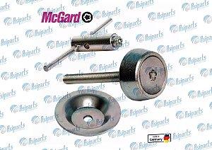 Kit parafuso anti-furto estepe interno Jac J5/T5/T40/Lifan X60/530 Liga leve