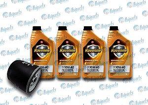 Kit de troca de óleo Chery QQ e Rely pick up/passageiro (HAVOLINE)