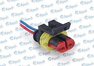 Plug chicote interno boia combustível Jac J2/ J3/ J5/ J6