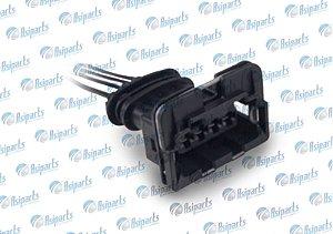 Plug chicote bobina de ignição Towner Jr/ Chana/ Chery Face/ QQ/ Tiggo Bosch