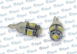 KIT SUPER LED SMD 2821 T10 12V ULTRA WHITE (BRANCO)