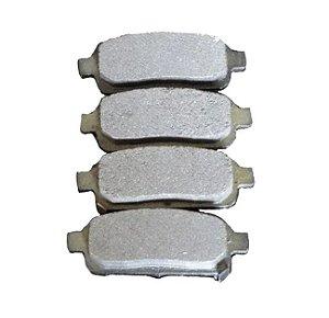 Pastilha de freio traseira Chevrolet Cruze