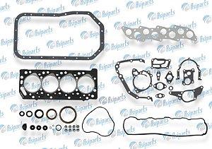 Jogo de juntas completo c/retentor Mitsubishi L200 95/09/ Hyundai HR 08/12 2.5 motor 4D56