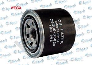 Filtro de óleo L200 Triton 2.4 Flex, L200 Triton 3.5 V6 e L200 Triton 3.5 V6 flex - WEGA JFO-0598