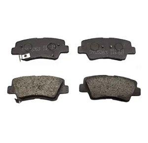 Past. de freio tras Hyundai Azera 3.0/Elantra/i30/Veloster