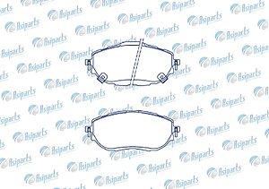 Pastilha de freio Corolla 1.8L Gli /2.0 AL Tis /2.0 Xei 2015 >