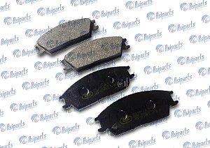Pastilha de freio diant Jac J3/Hyundai Accent, Excel, S-Coupe
