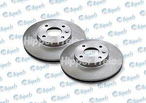 Disco de freio dianteiro Chevrolet Cobalto/Sônica/Girar