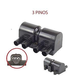 Bobina de ignição GM Celta/Corsa/Meriva/Fiat Siena (3PINOS)