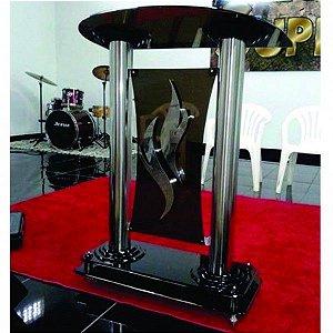 Púlpito em inox e acrílico - Getsêmani 002