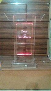 Púlpito em Acrílico - Calebe 002