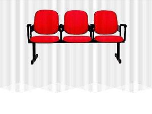 Poltrona em Longarina Rebatível Diretor 6005 - (Valor por cada Cadeira ou Poltrona)