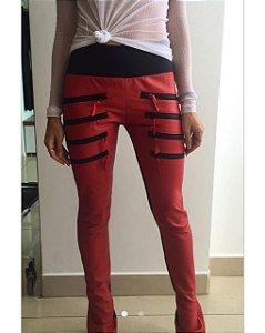 Calça Skinny Couro Ecológico - Cibelle