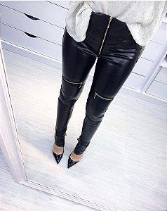 Calça Skinny Couro Ecológico - Kamila