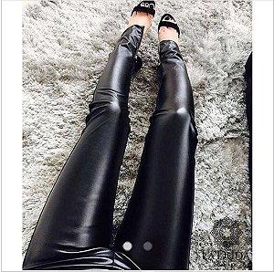 Calça Skinny Couro Ecológico - Rubia