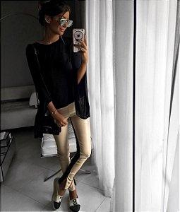 Calça Skinny Couro Ecológico - Fabiola