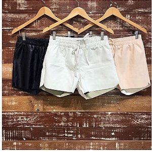 Shorts Couro Ecológico - Catarina
