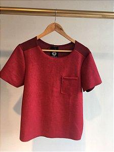 T-shirt de Suede Ana Nayara