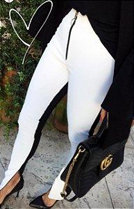 Calça Skinny Couro Ecológico Luna