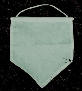 Flâmula Bandeira 28 cm x 35 cm - Sem Estampa