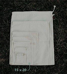 Ecopack 15 cm x 20 cm - Sem Estampa