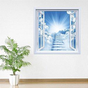 Adesivo de Janela Escada do Céu