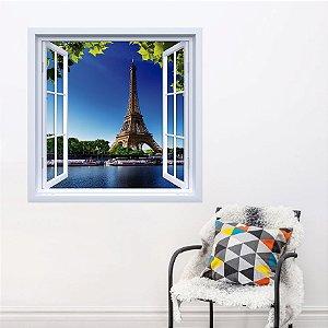 Adesivo de Janela Torre Eiffel França