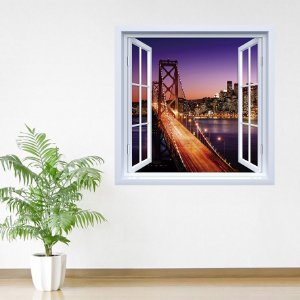 Adesivo de Janela Ponte Golden Gate