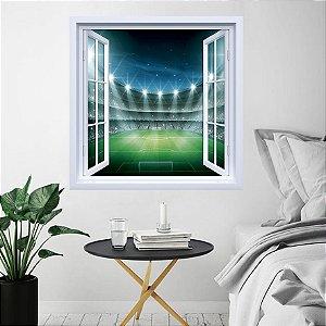 Adesivo de Janela Estádio de Futebol