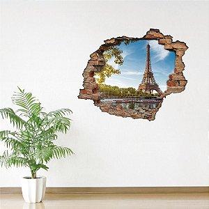 Adesivo Buraco 3D - França