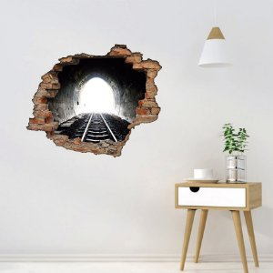 Adesivo Buraco 3D - Túnel