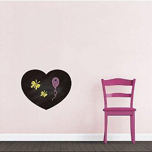 Adesivo De Lousa Formas - Coração