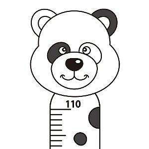 Réguas de Crescimento - Ursinho