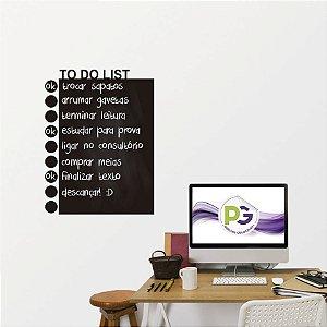 Adesivo De Lousa Formas - Lista de Tarefas