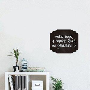 Adesivo De Lousa Formas - Moldura 03