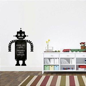 Adesivo De Lousa Formas - Robo