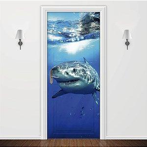 Adesivo para Porta Tubarão