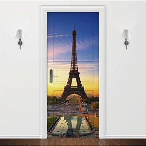 Adesivo para Porta Paisagem Paris