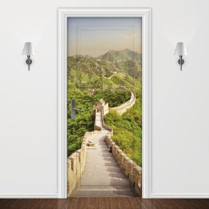 Adesivo para Porta Muralha da China