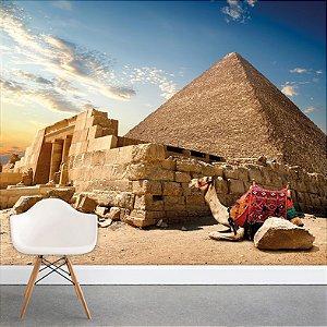 Painel Fotográfico - Pirâmides