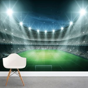 Painel Fotográfico - Estádio de Futebol