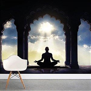 Painel Fotográfico - Meditação