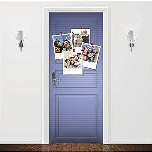 Adesivo para Porta Fotos Polaroid Azul