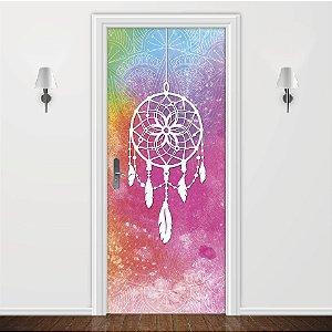Adesivo para Porta Filtro Dos Sonhos Colorido